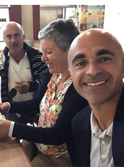 padres de Oliver Pérez